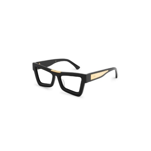 MARAUDER BLACK 24K GOLD WITH CLEAR LENS