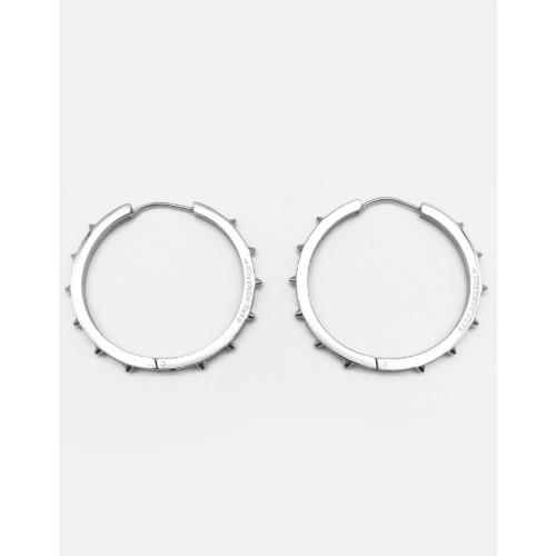 SPIKE HOOP EARRINGS LARGE