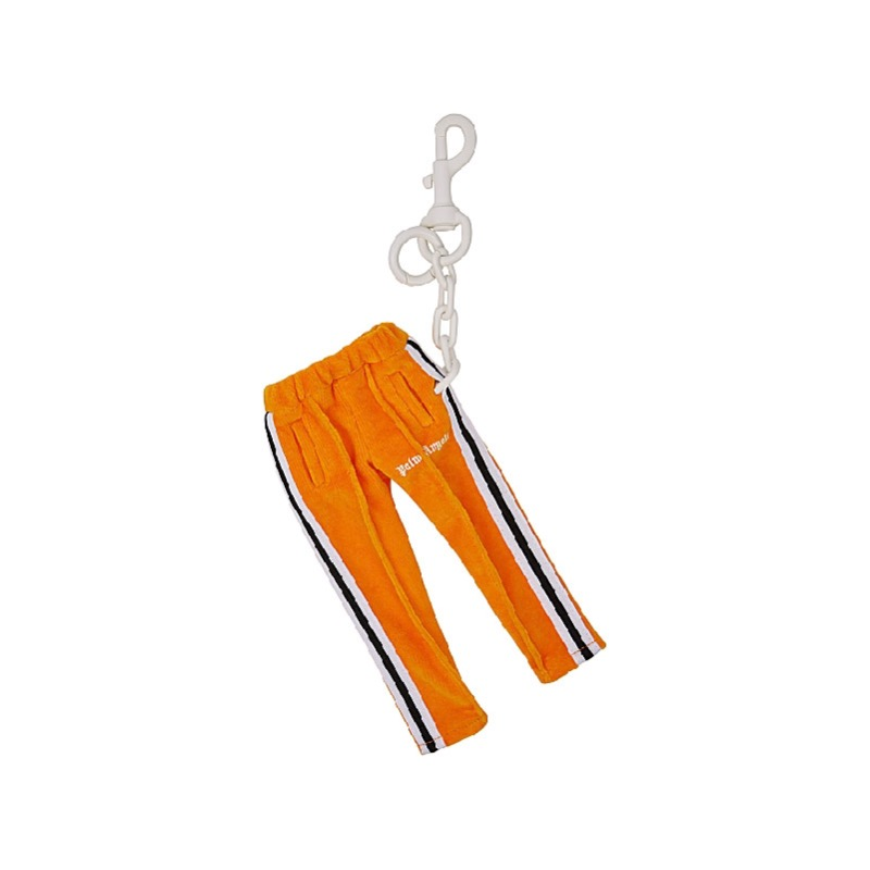CHENILLE MINI TRACK KEYCHAIN ORANGE