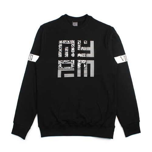 [NASTY PALM] N-STATE SWEATSHIRTS (BLACK)