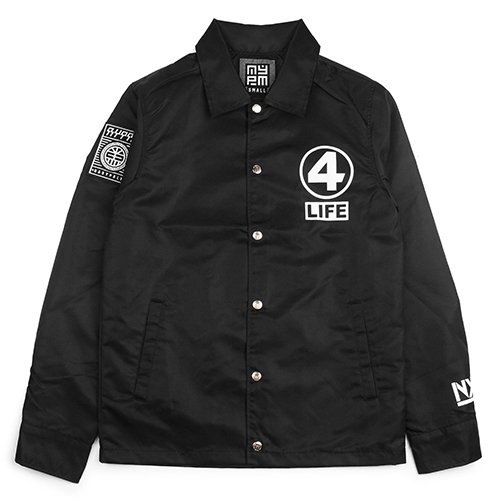 [NASTY PALM] NXM 4LIFE COACH JACKET (BLACK)