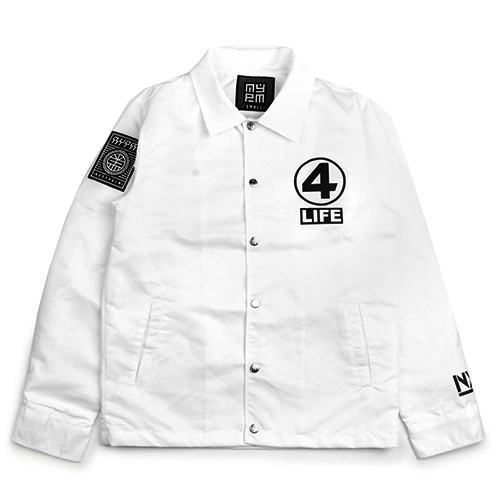 [NASTY PALM] NXM 4LIFE COACH JACKET (WHITE)