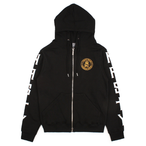 [NASTY PALM] NXM ROYAL HOOD ZIP UP (BLACK)