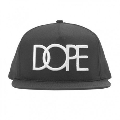 [DOPE] 3D EMBROIDERED SNAPBACK (BLACK)