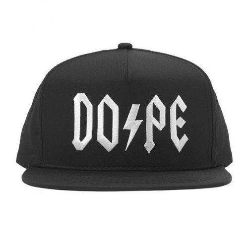 [DOPE] HIGH VOLTAGE SNAPBACK (BLACK)