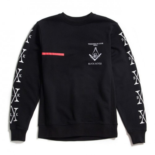 [BLACK SCALE] WINDOW TO YOUR SOUL CREW (BLACK)