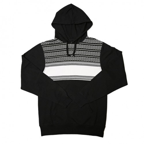 [BLACK SCALE] HELL DAY HOODED FLEECE (BLACk)