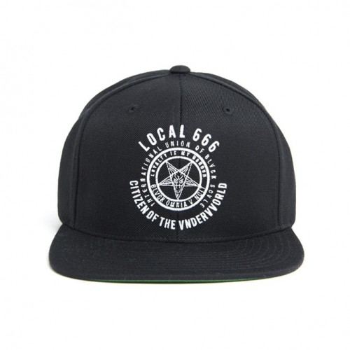 [BLACK SCALE] LOCAL 666 SNAP BACK (BLACK)