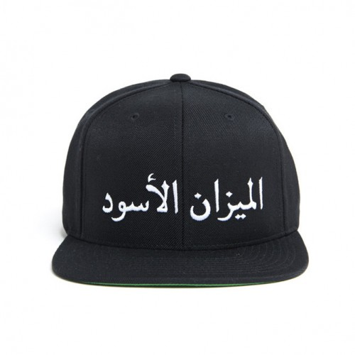 [BLACK SCALE] SCALE OF BLACK SNAP BACK (BLACK)