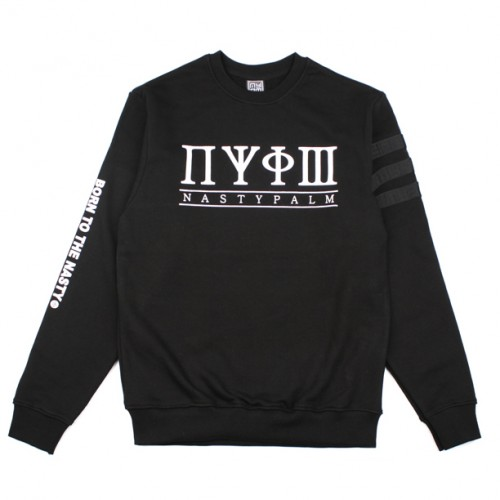 [NASTY PALM] NASTY TRIBE SWEATSHIRTS (BLACK)