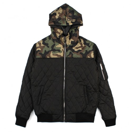 [NASTY PALM] OUTLOW QUILTING JKT (BLACK)