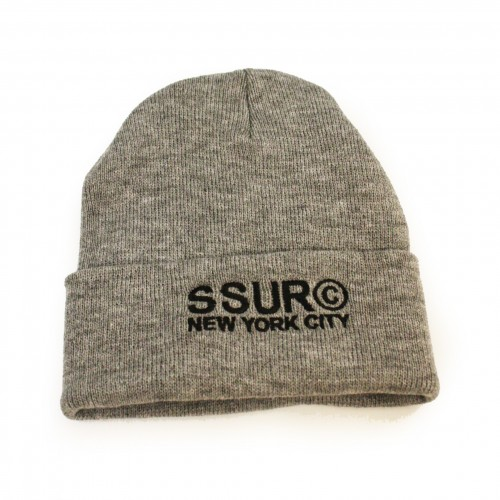 [SSUR] THE COPYRIGHT NYC BEANIE (GEATHER)