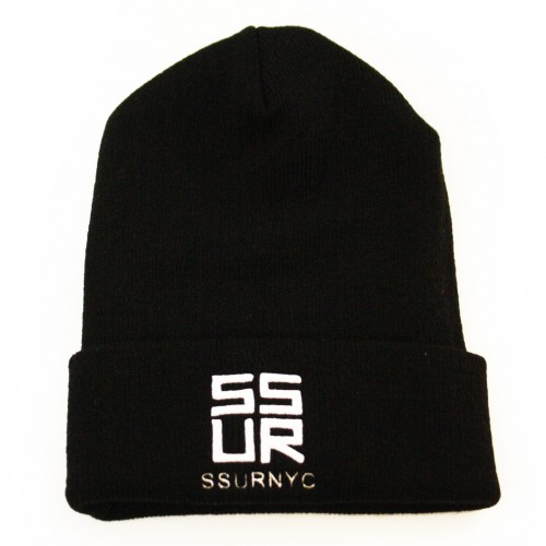 [SSUR] THE SSURVENCHY BEANIE (BLACK)
