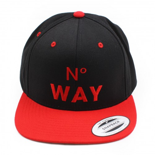 [MARRIED TO THE MOB] THE NO WAY SNAPBACK (BLACK)