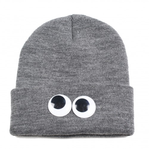 [HELLZ BELLZ] THE EYEZ ON YOU BEANIE (HEATHER GRAY)