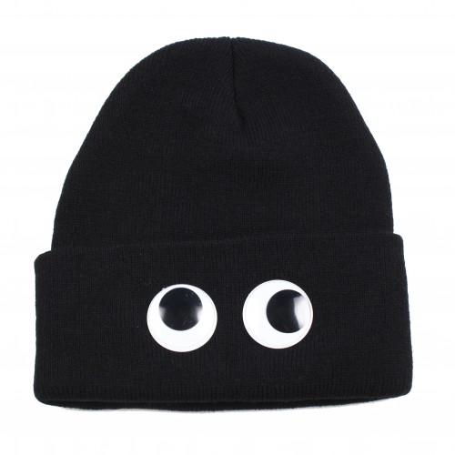[HELLZ BELLZ] THE EYEZ ON YOU BEANIE (BLACK)
