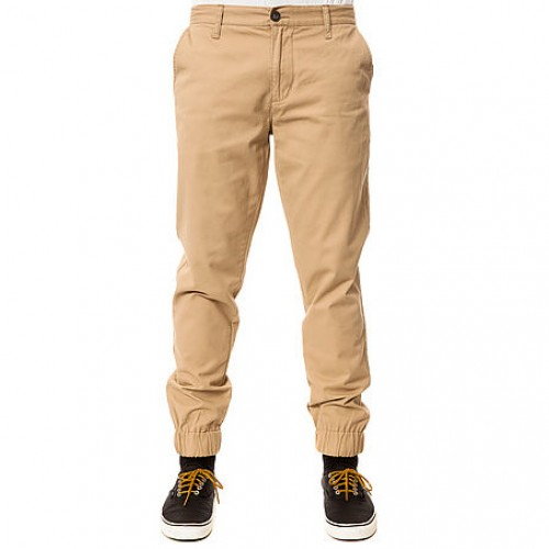 [$ SHOP SALE] [ELWOOD] THE SLIM CHINO JOGGERS (BEIGE)