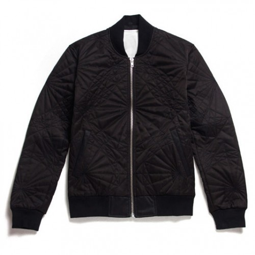 [BLACK SCALE] SHAPES JACKET, BLACK