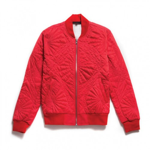 [BLACK SCALE] SHAPES JACKET, RED