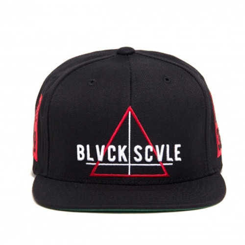 [BLACK SCALE] TEAM BIVCK SNAPBACK, BLACK