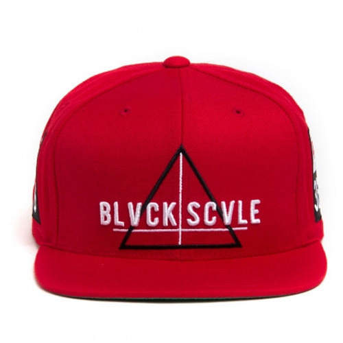 [BLACK SCALE] TEAM BIVCK SNAPBACK, RED
