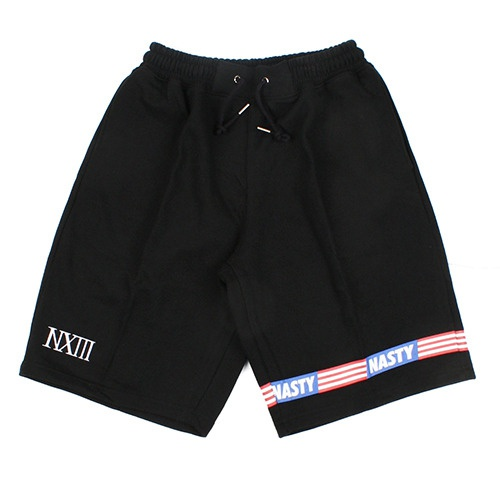 [NASTY PALM] BUTWISE SWEAT SHORTS (BLK)