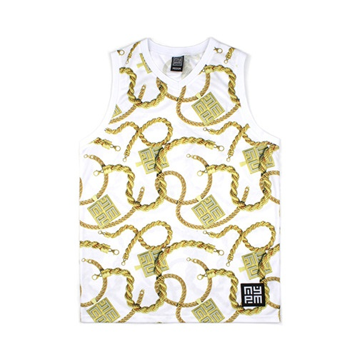 [NASTY PALM] ICE GOLDIE JERSEY SLEEVELESS (WHT)