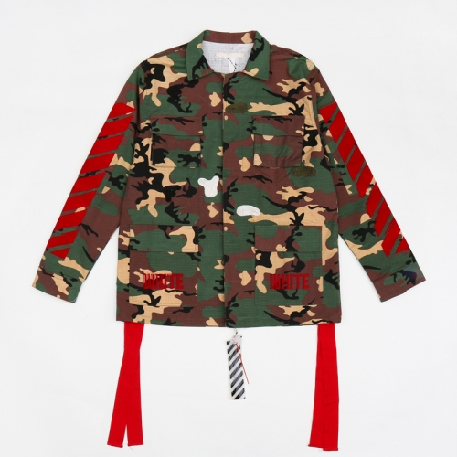 [OFF-WHITE] CAMOFLAGE FIELD JACKET