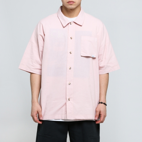 [쿠드그라스 연말 FINAL SALE] [EPTM] VINTAGE PINK DAD SHIRT