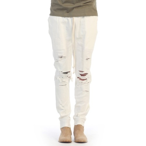 [쿠드그라스 연말 FINAL SALE] [EPTM] THRASHER PANTS OFF WHITE