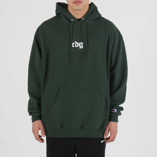 [$ SHOP SALE] [COUPDEGRACE] CDG CREW CHAMPS HOODY (KELLY GREEN)