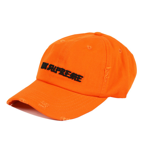 [쿠드그라스 연말 FINAL SALE] [PESOSX] NOT SUPREME DISTRESSED HAT