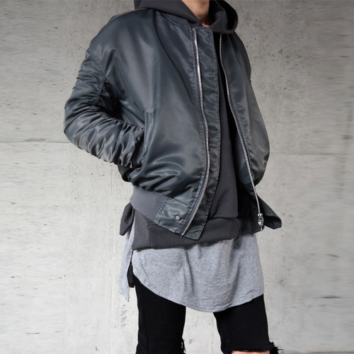 [XSACKY] SACKY 2WAY SHIRRING MA-1 (URBAN GRAY)