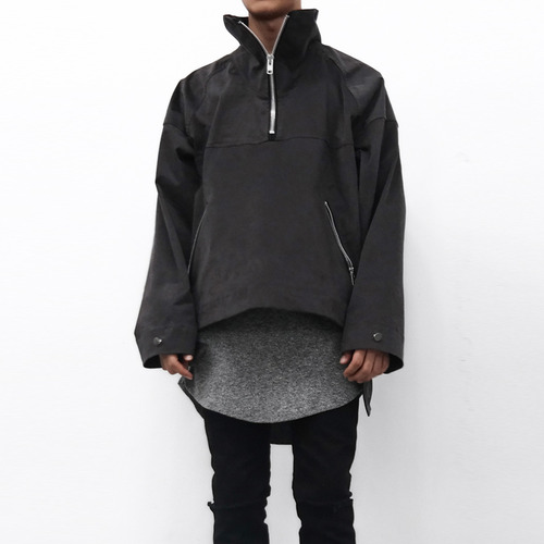 [XSACKY] SACKY ANORAK JACKET (DARK GREY)
