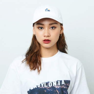 [$ SHOP SALE] [KANEZ] WAVE EYE POLO CAP WHITE