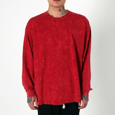 [$ SHOP SALE] [EPTM] SUPER BLAST LS BOX TEE (RED)