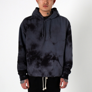 [쿠드그라스 연말 FINAL SALE] [EPTM] CRYSTAL DYE HOODIE (MIDNITE SHADOW)