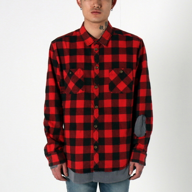 [$ SHOP SALE] [EPTM] BUTCHER FLANNEL (BIG BEAR RED)