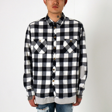 [$ SHOP SALE] [EPTM] BUTCHER FLANNEL (MAINE WHITE)
