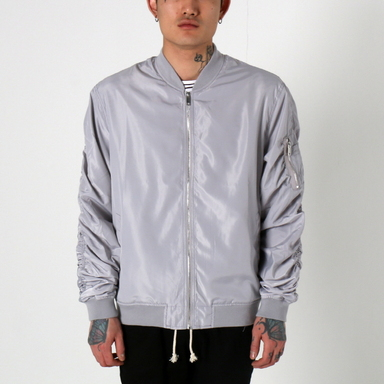 [$ SHOP SALE] [EPTM] LT WEIGHT MA-1 JACKET (LT GREY)