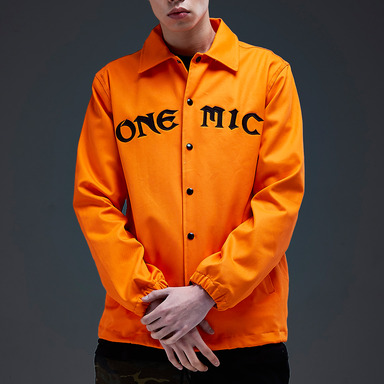 [NYPM] ONEMIC COACH JACKET (ORANGE)