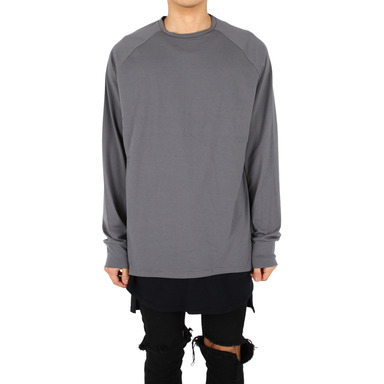 [XSACKY] RAGLAN SLEEVES (DARK GREY)