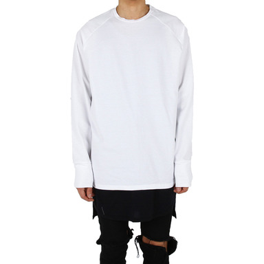 [XSACKY] RAGLAN SLEEVES (WHITE)