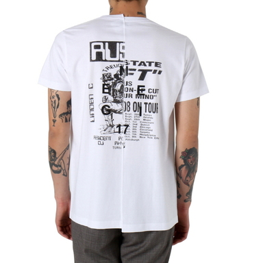 [쿠드그라스 연말 FINAL SALE] [NEIGE] R808 TEE (WHITE)