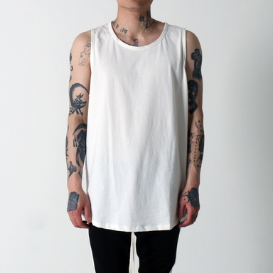 [$ SHOP SALE] [EPTM] HEAVY WEIGHT 2.0 TANK TOP (WHITE)