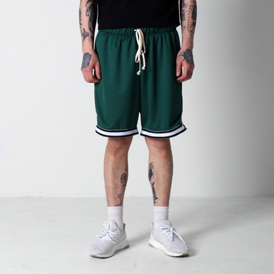[$ SHOP SALE] [EPTM] BASKETBALL SHORTS (FOREST GREEN)