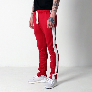 [쿠드그라스 연말 FINAL SALE] [EPTM] TECHNO TRACK PANTS (RED)