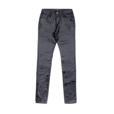 [END/AND] END COATED COTTON JEANS [BLACK]