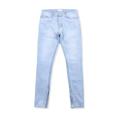 [END/AND] ESSENTIAL END DENIM ZIP (LIGHT BLUE)