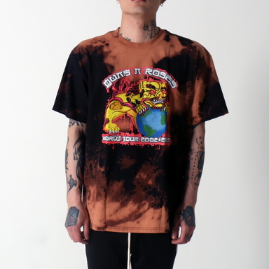 [$ SHOP SALE] [VINTAGE WEAR LA] GUNS AND ROSES CHOW DOG TEE
